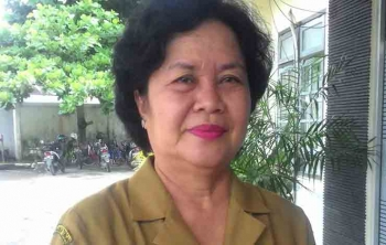 Kepala Badan Kepegawaian dan Pelatihan Sumberdaya Manusia Kabupaten Kapuas, Sindai.