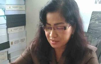 Anggota DPRD Gumas, Lily Rusnikasi.