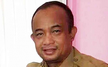 Kepala Dinas Ketahanan Pangan dan Pertanian Kabupaten Seruyan, Sugian Noor.