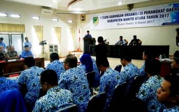 Kegiatan forum SKPD Kabupaten Barito Utara tahun 2017.