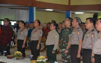Kapolri Jendral Tito Krnavian saat di Pontianak, Senin (6/3/2017)
