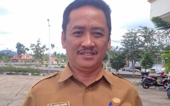 Kepala Dinas Perumahan Kawasan Permukiman dan Pertanahan Kabupaten Murung Raya Ferry Hardi