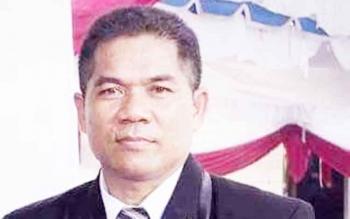 Anggota DPRD Kabupaten Gunung Mas Heri A Junas