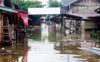 Banjir di Kelurahan Montallat I, Kecamatan Montallat