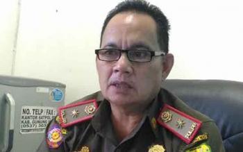 Kepala Satpol PP Kabupaten Gunung Mas Edwin Yustian
