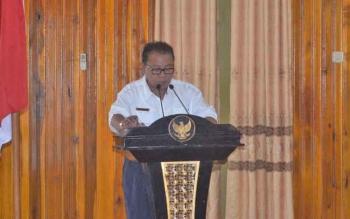 Bupati Sukamara Ahmad Dirman.