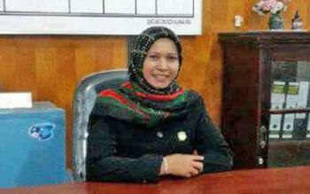 Anggota Komisi C DPRD Kota Palangka Raya Mukarramah