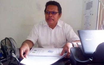 Kasi Informasi Pasar Kerja dan Setifikasi pada Dinas Tenaga Kerja dan Transmigrasi Kabupaten Barito Selatan Aris Hutono