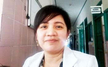 Dania, dokter spesialis anak RSUD Mas Amsyar Kasongan Kabupaten Katingan.