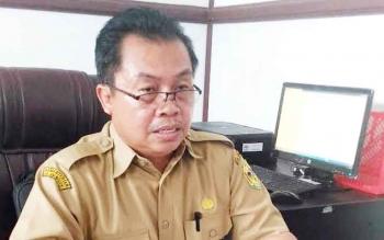 Kepala Dinas Transmigrasi, Tenaga Kerja, UKM dan Koperasi Kabupaten Gumas, Letus Guntur.