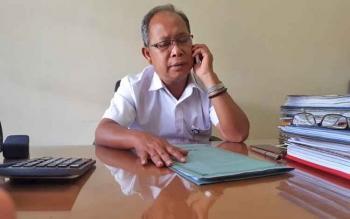 Kepala Bidang Produksi Tanaman Pangan Dinas Pertanian Kotim, Rintar MP Siahaan