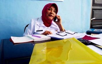 Direktur Utama RSUD Muara Teweh drg Dwi Agus Setijowati