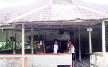 Balai Adat Kaharingan Desa Bundar perlu perbaikan