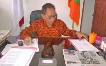 Kepala Dinas Pemuda Olahraga Pariwisata dan Kebudayaan Kabupaten Barito Selatan Raden Sudarto