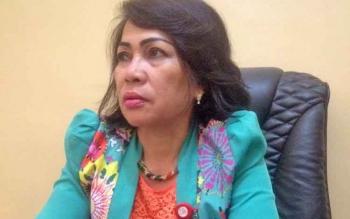 Kepala Dinas Pariwisata dan Olah Raga (Disparpora) Kabupaten Mura, Regita.