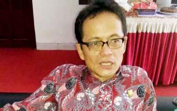 Ketua Komisi A DPRD Kalteng Freddy Ering