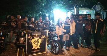 Bikers yang tergabung dalam komunita Isen Mulang Tiger Club dan Honda Street Fire Club Indonesia Palangka Raya mengadakan tour gabungan ke Kota Penajam, Kabupaten Penajam Paser Utara, Provinsi Kalimantan Timur, Jumat (10/3/2017) malam.