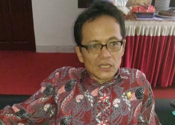 Anggota DPRD Provinsi Kalimantan Tengah Freddy Ering