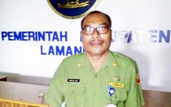 Pelaksana Tugas (Plt) Kepala BKPSDM Lamandau, Marinus Apau