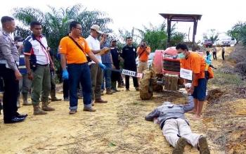 Dari Reka Ulang Polisi Simpulkan Pembantaian Orangutan Terjadi Spontan