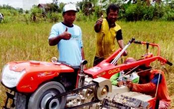Petani Sungai Sugih Kecamatan Kotabesi, Kabupaten Kotawaringin Barat, masih menanam siam epang.