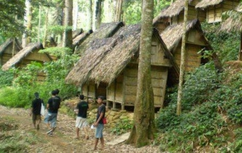 Perkampungan suku badui