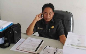Anggota DPRD Gunung Mas, Herber Y Asin