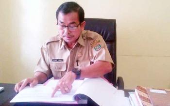 Kepala Dinas Kependudukan dan Pencatatan Sipil Kabupaten Barito Selatan Nyamei Tumbai