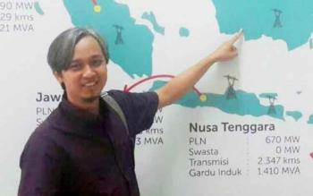Mantan Manajer PT PLN Rayon Sukamara, Drie Alsi Laksana.
