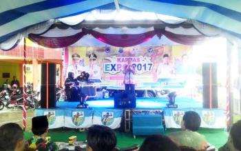 Bupati Kapuas Ben Brahim S Bahat membuka kegiatan Kapuas Expo 2017.