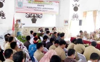 Suasana kegiatan pembukaan Musrenbang RKPD 2017