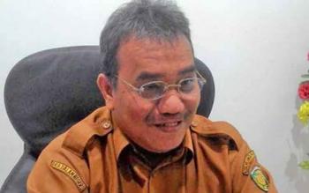 Kepala Disperindag Kota Palangka Raya Aratuni D Djaban