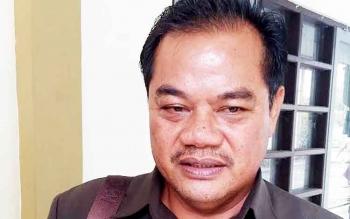 Anggota DPRD Gunung Mas Untung Jaya Bangas