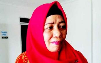 Kepala Dinas Pendidikan Kabupaten Pulang Pisau Aminah .