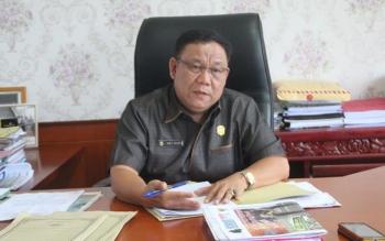 Ketua DPRD Murung Raya, Gad F. Silam