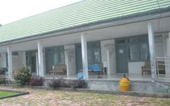 Ruang pelayanan di Rumah Sakit Umum Daerah (RSUD) Sukamara.
