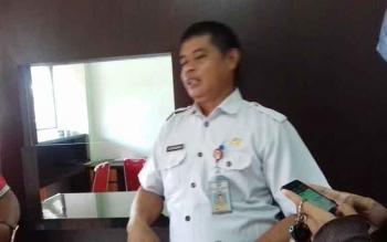 Plt Kepala BKD, Alang Arianto.