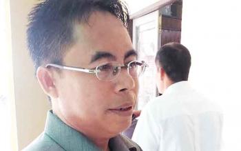 Anggota DPRD Kabupaten Gunung Mas Herbert Y Asin