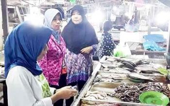 Pasar Besar Palangka Raya menjadi pusat perbelanjaan tradisional bagi masyarakat.