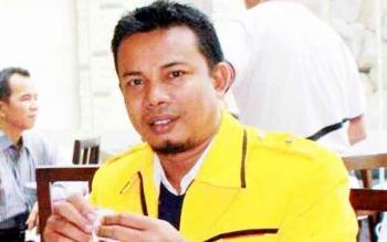 Joni Abdi, Sekretaris Panitia Pelantikan DPD Golkar Kotim.