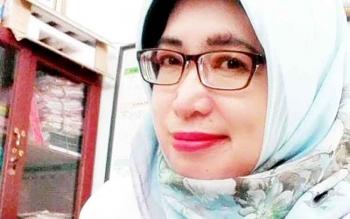 Ketua Persatuan Guru Republik Indonesia Kota Palangka Raya Ernawati