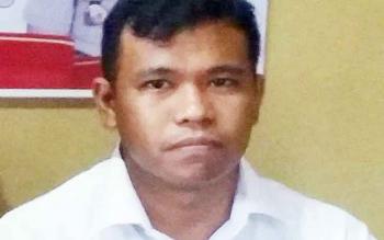 Kasat Reskrim Polres Kotawaringin Timur (Kotim) AKP Erwin Togar