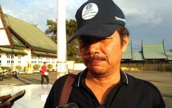 Asisten I Minahasa Tenggara Gotlieb Mamahit saat mengunjungi Pulang Pisau.