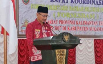 Kepala Kantor Kemenag Sukamara H Suyarno.