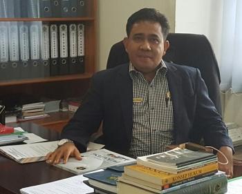 Rektor IAIN Palangka Raya Ibnu AS Pelu