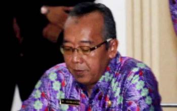 Sekretaris Daerah (Sekda) Sukamara, Sumantri HW.