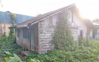 Salah satu rumah tak layak huni di Kelurahan Mendawai Sukamara.