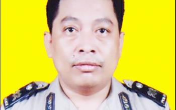 Kanit II Sentra Pelayanan Kepolisian Terpadu (SPKT) Polres Palangka Raya Aiptu Rudi Hartono (alm)