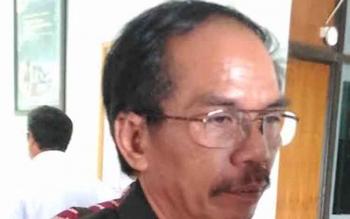 Ketua DPRD Kabupaten Gumas Gumer.