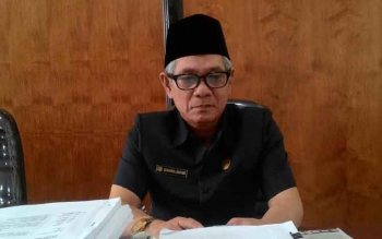 Anggota Komisi A DPRD Kota Palangka Raya Suhardi Lentam Nigam
